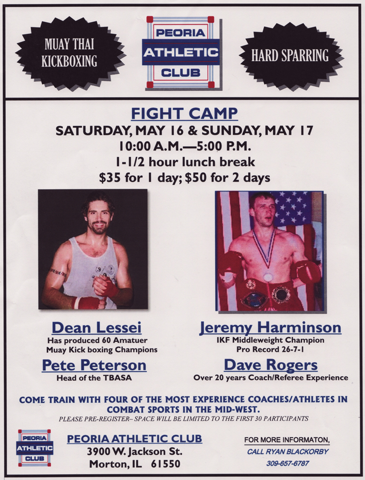 Peoria Athletic Club May Fight Camp