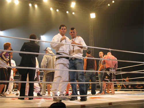 Roger Gracie and Dan Hornbuckle