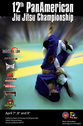 Poster for the 12th PanAmerican Jiu Jitsu Championships