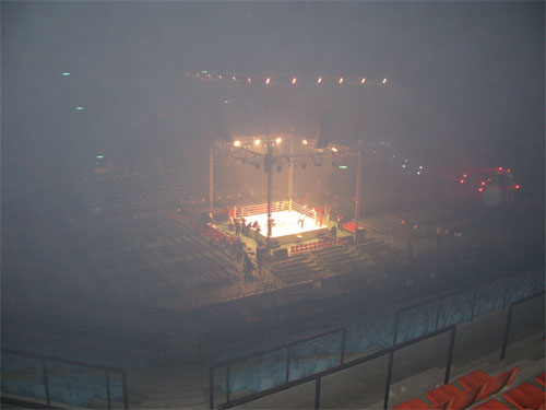 The ring from the nose bleed seats